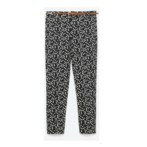 Zara Pants - 3 for $35 | Floral Print Trousers | Zara